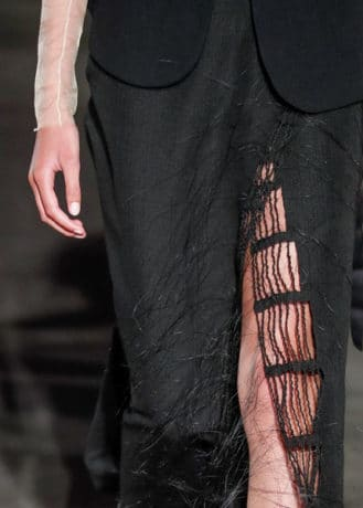 Marianne Kemp - black horsehair skirt